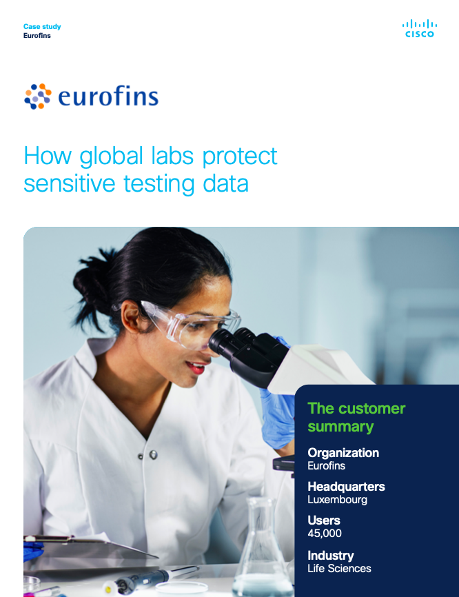 Eurofins - how global labs protect sensitive testing data