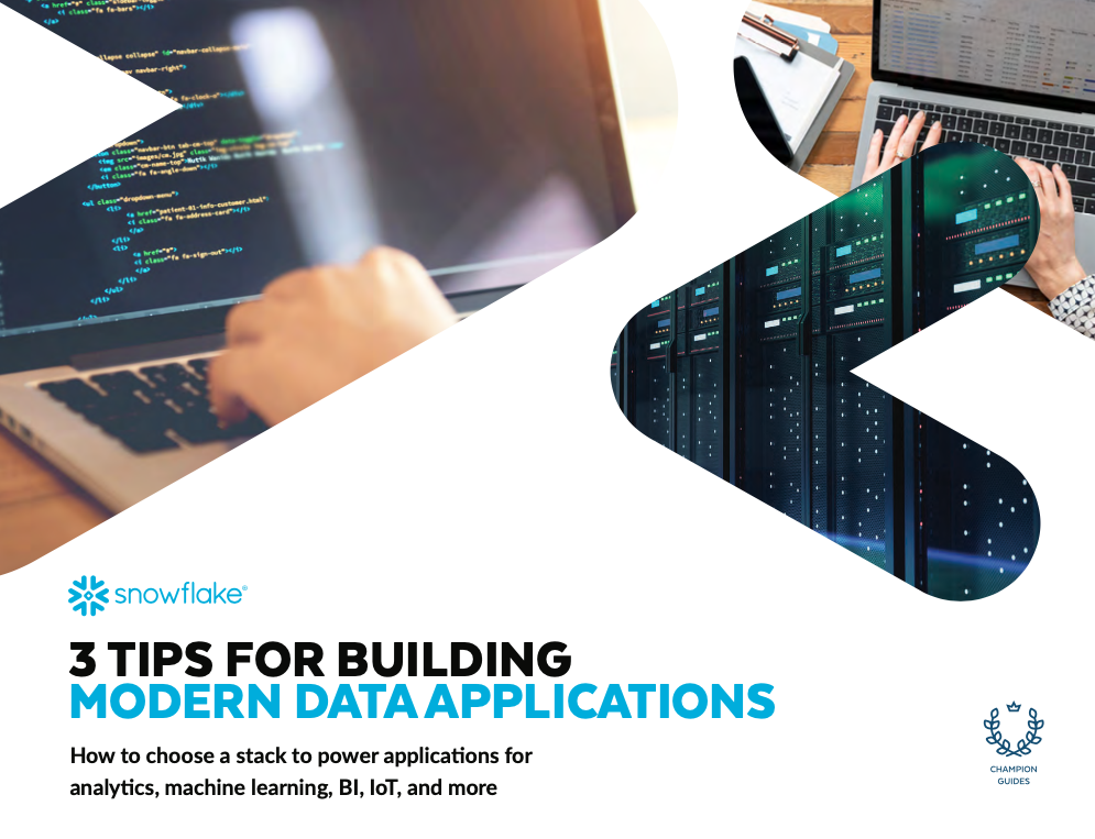 3 Tips for Building Modern Data Applications