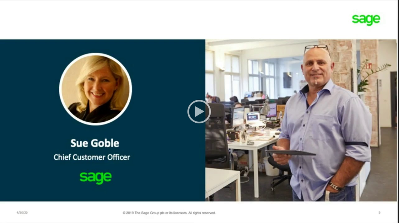 Learn how Sage is driving their 12,000+ employees and over 2 million customers forward