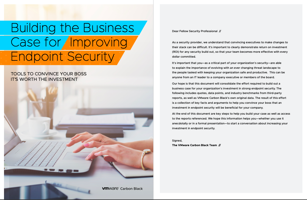 Building the Business Case for Improving Endpoint Security