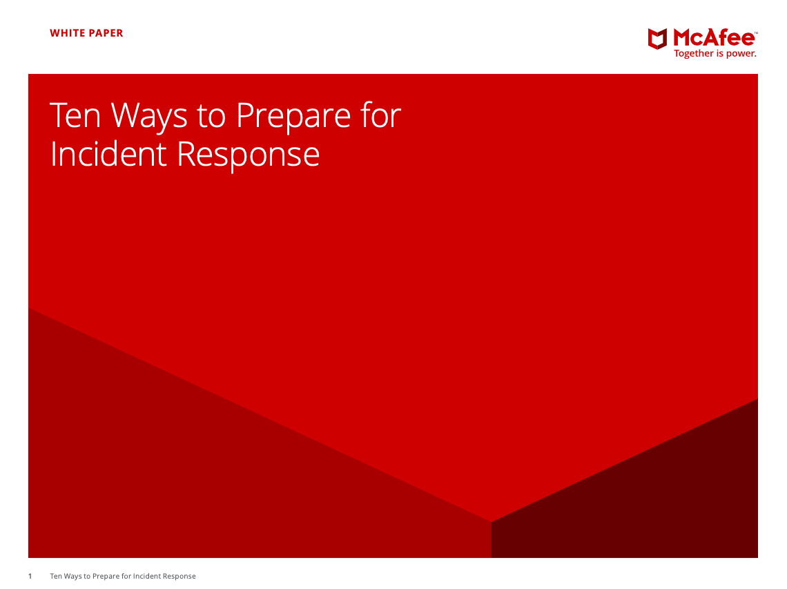 Ten Ways to Prepare for Incident Response