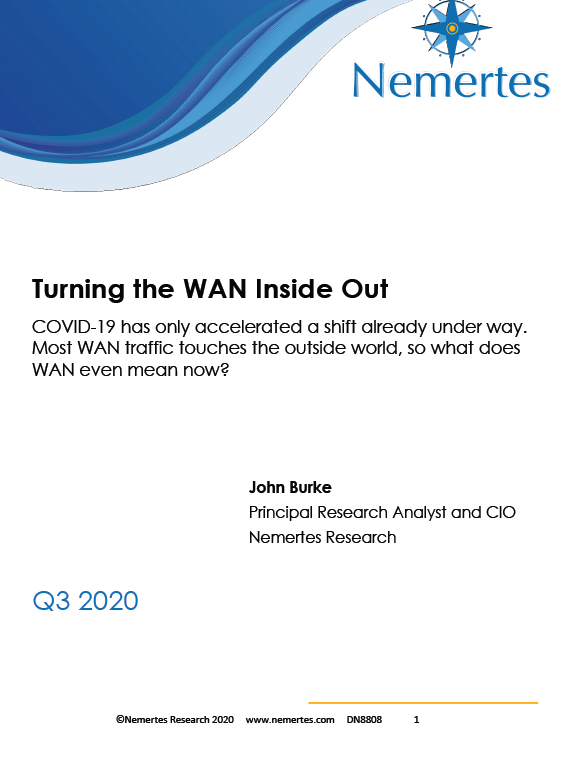 Nemertes: Turning the WAN Inside Out White Paper