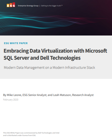 Embracing Data Virtualization with Microsoft SQL Server and Dell Technologies