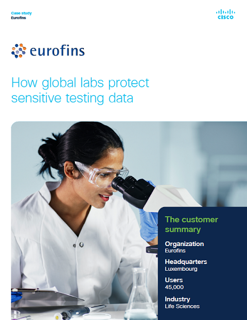 Cisco Umbrella Case Study: How global labs protect sensitive testing data