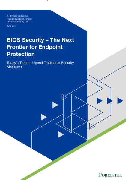 BIOS Security – The Next Frontier for Endpoint Protection