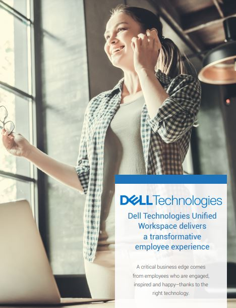 Dell Technologies Unified Workspace delivers a transformative employee experience