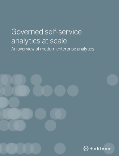 Governed self-service analytics at scale
