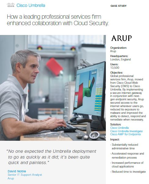 Case Study: How a leading professional services firm enhanced collaboration with Cloud Security
