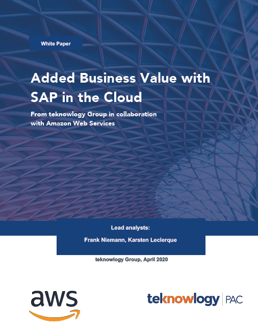 Added Business Value with SAP in the Cloud