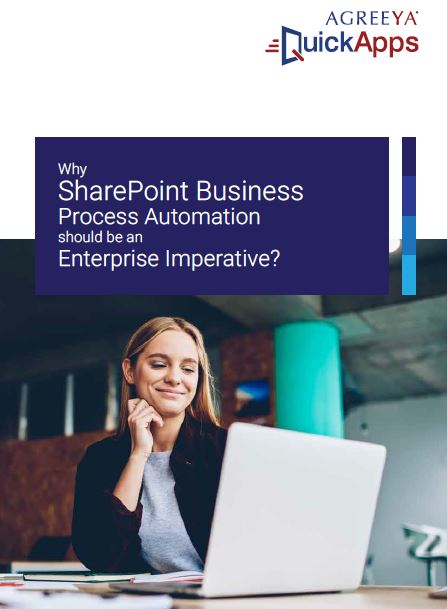 Why SharePoint Business Process Automation should be an Enterprise Imperative?