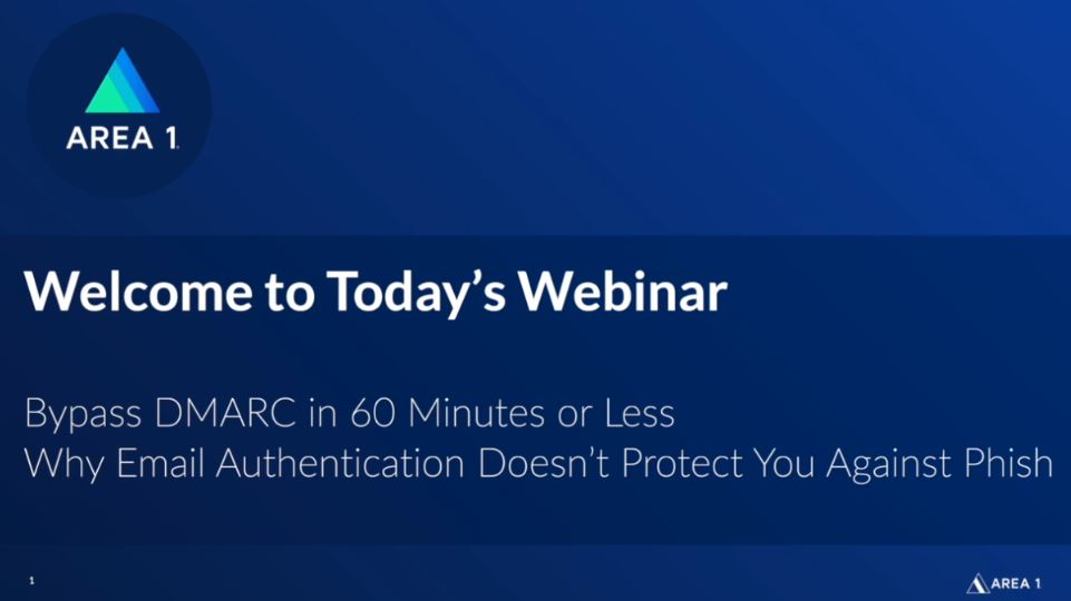 DMARC On-Demand Webinar