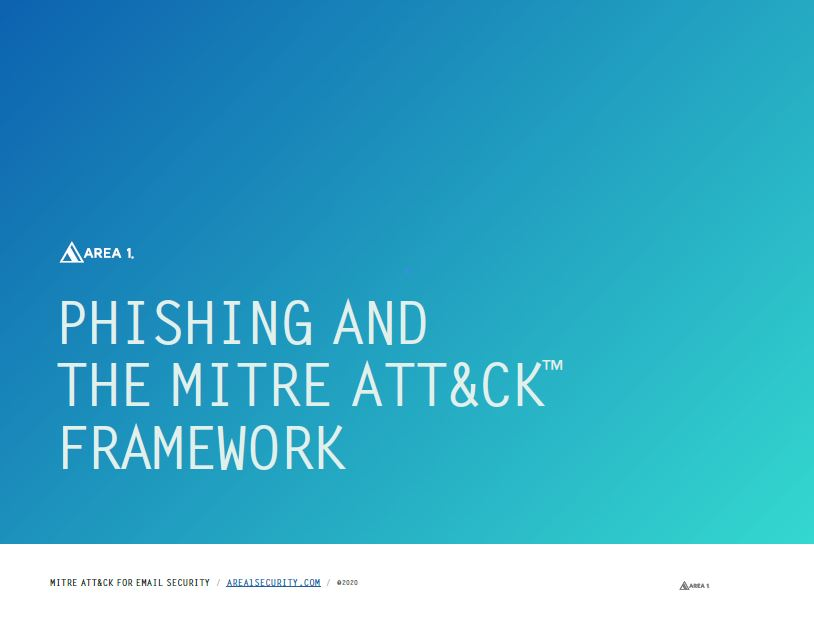 PHISHING AND THE MITRE ATT&CK™ FRAMEWORK
