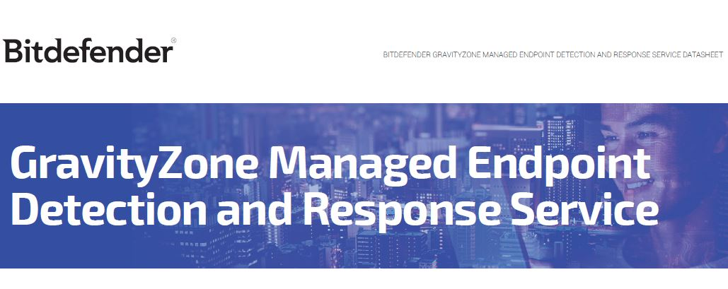 GravityZone Managed Endpoint Detection and Response Service