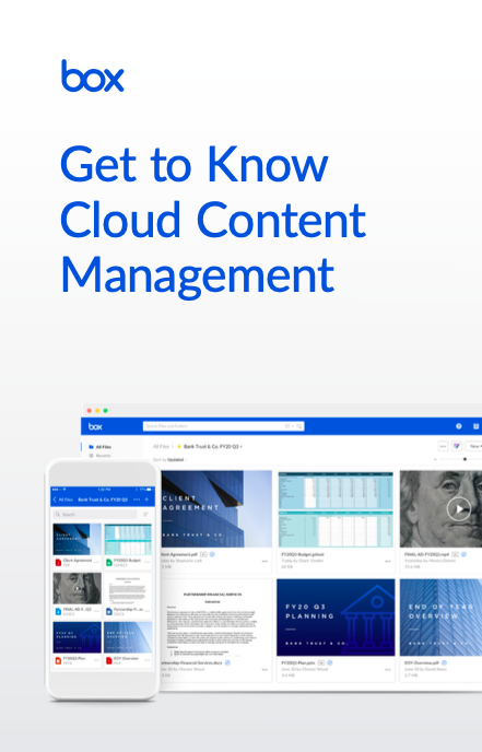 Get to Know Cloud Content Management