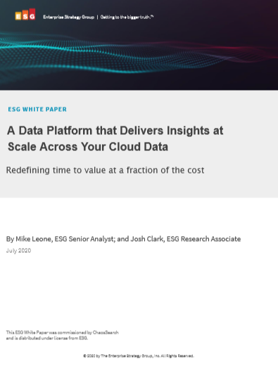 ESG White Paper: A Modern Data Platform for Scalable Analytics