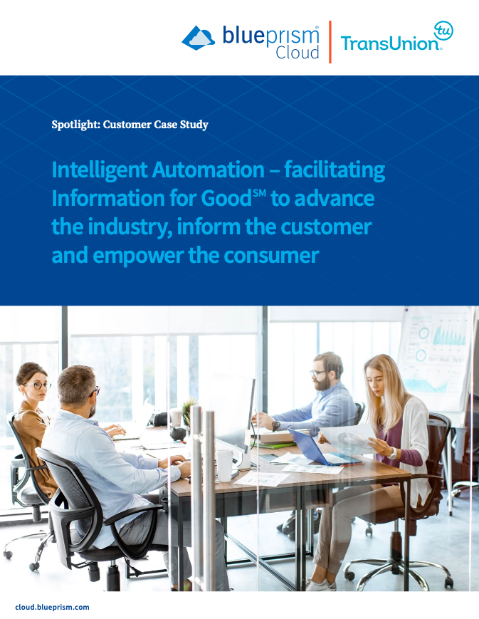 Intelligent Automation – facilitating Information for GoodSM to advance the industry, inform the customer and empower the consumer
