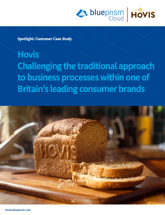 Hovis Challenging the traditional approach to business processes within one of Britain's leading consumer brands