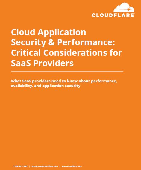 Cloud Application Security & Performance: Critical Considerations for SaaS Providers