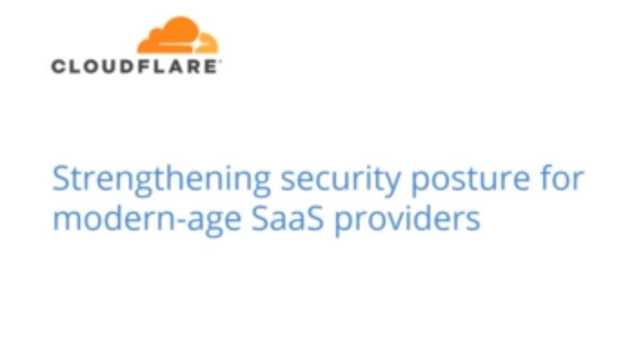 Strengthening security posture for modern-age SaaS providers