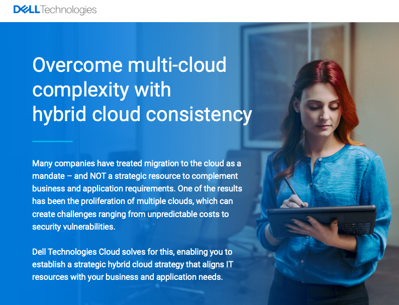 Overcome multi-cloud complexity with hybrid cloud consistency