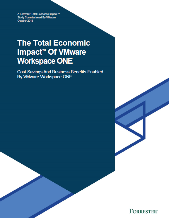 The Total Economic Impact™ Of VMware Workspace ONE
