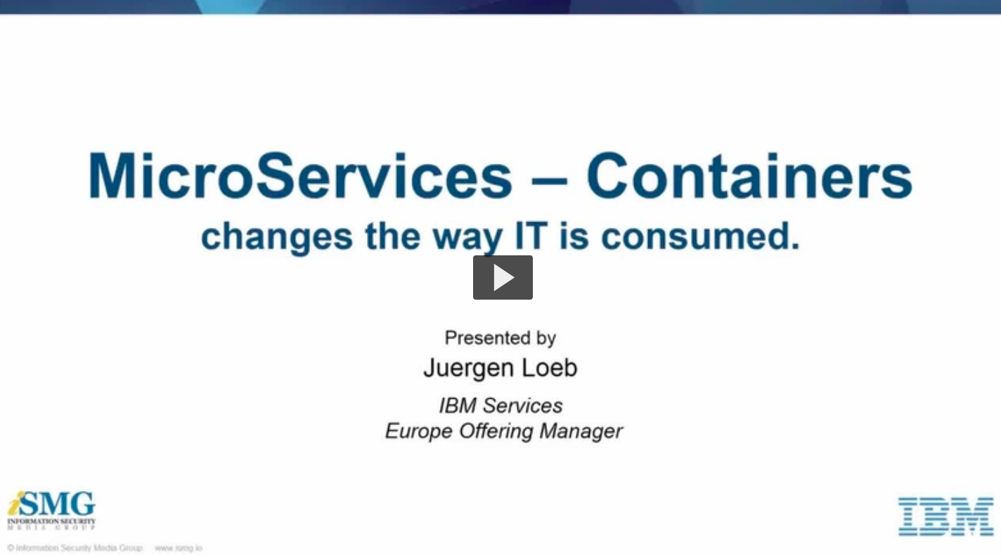 Lead the change of your IT: Unlock microservices - containers for Enterprise business