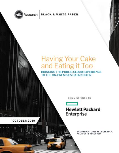 Having Your Cake and Eating it Too Bringing the Public Cloud Experience to The On-Premises Datacenter