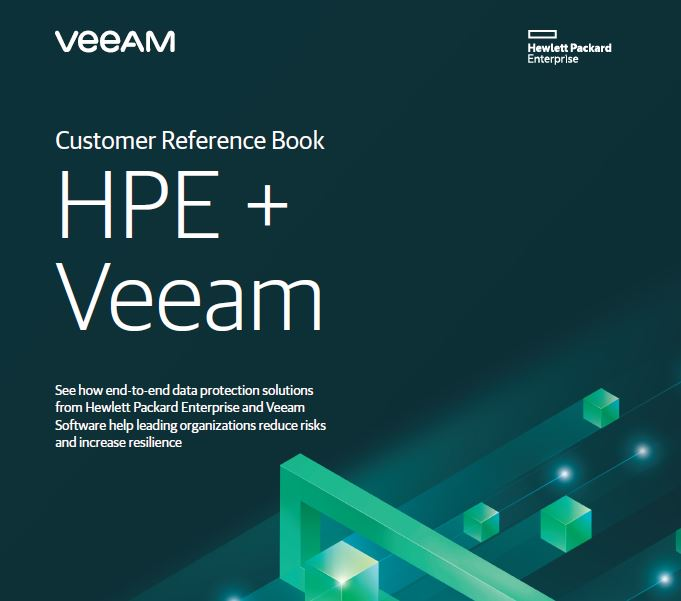 Customer Reference Book HPE + Veeam