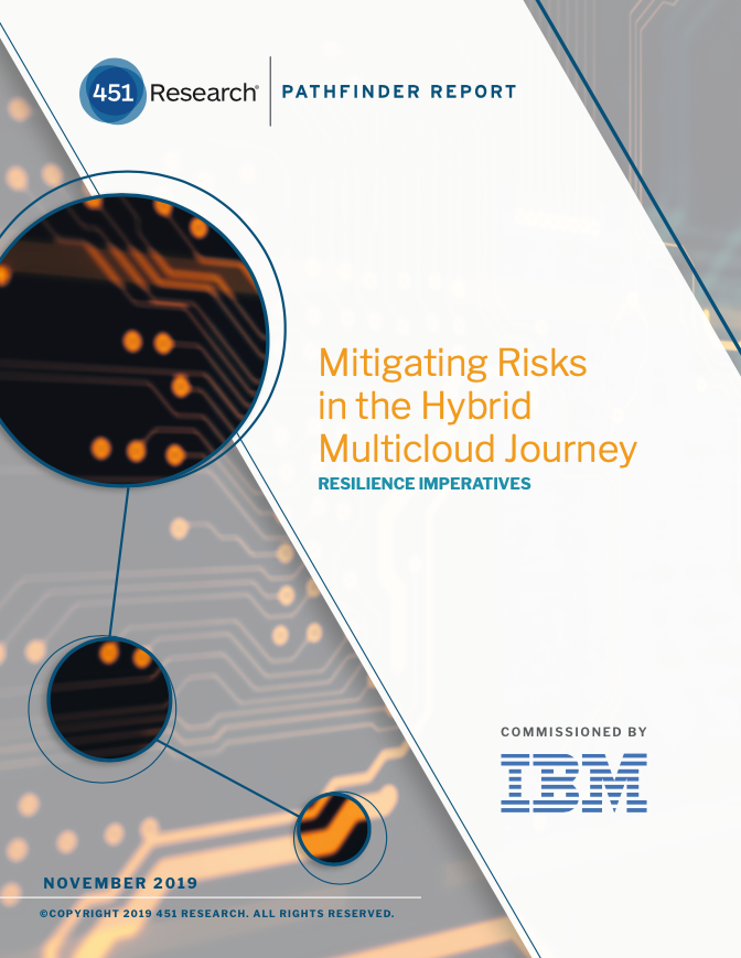 Mitigating Risks in the Hybrid Multicloud Journey: Resilience Imperatives