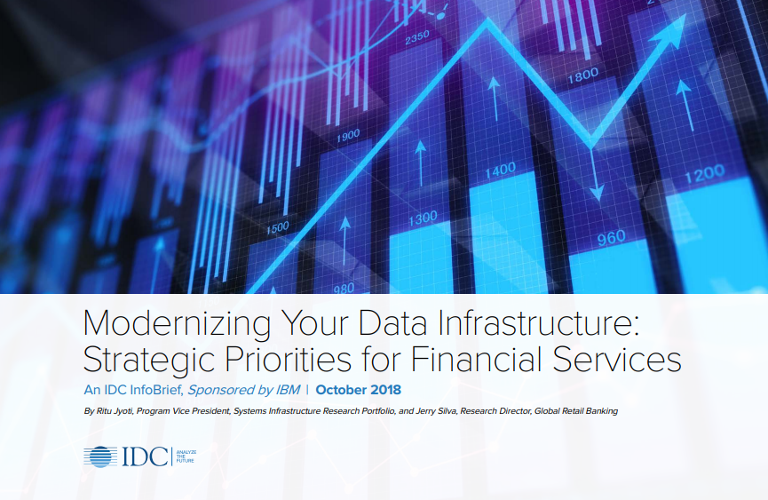 Modernizing Your Data Infrastructure: Strategic Priorities for Financial Services