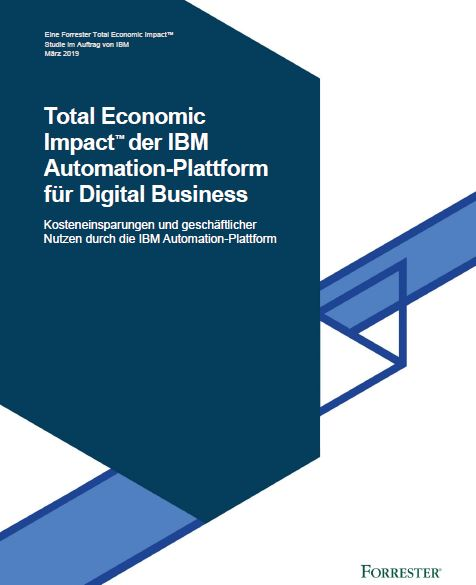 Total Economic Impact™ der IBM Automation-Plattform für Digital Business