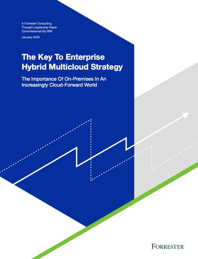 The Key To Enterprise Hybrid Multicloud Strategy