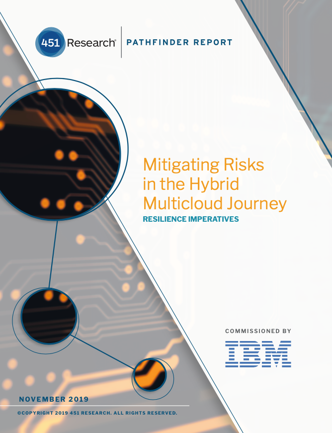451 Research - Mitigating Risks in the Hybrid Multicloud Journey
