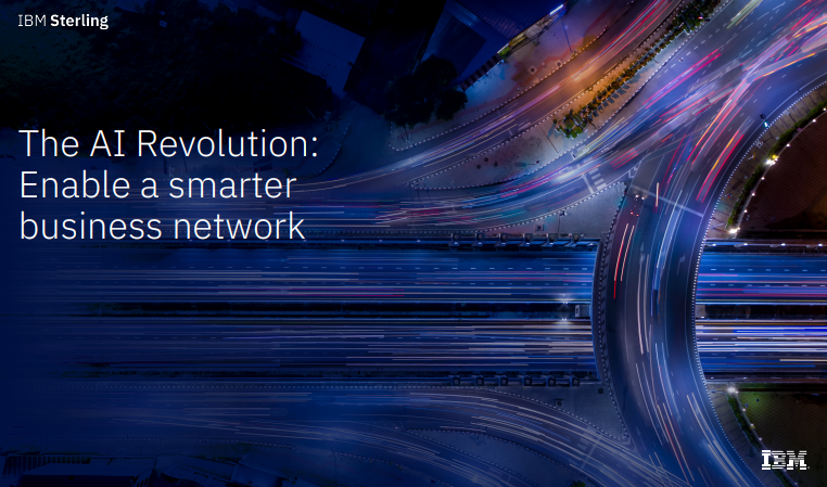 The AI Revolution: Enable a smarter business network