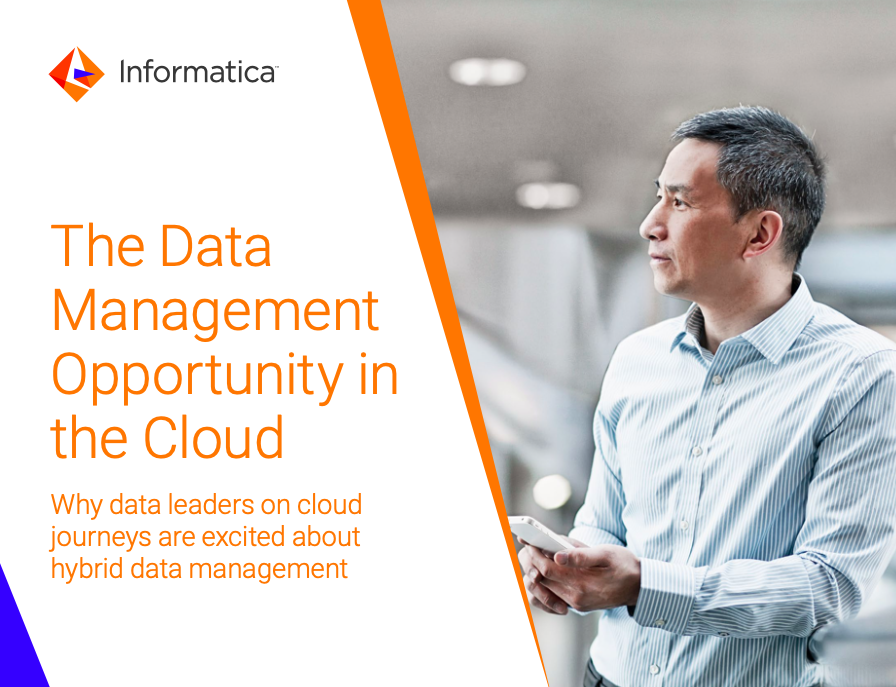 Move to the Cloud. Why the cloud is a decisive moment for data management leaders