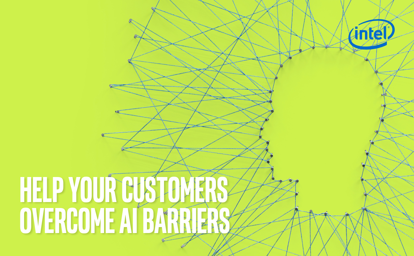 HELP YOUR CUSTOMERS OVERCOME AI BARRIERS