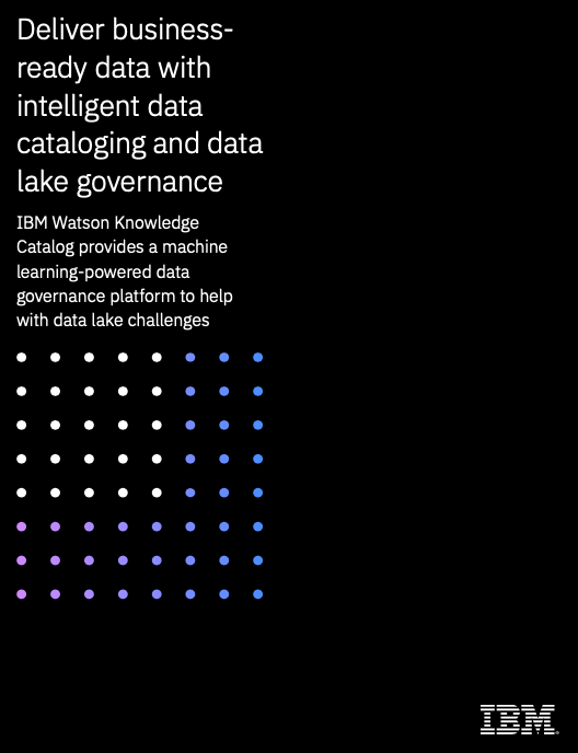 Deliver business-ready data with intelligent data cataloging and data lake governance