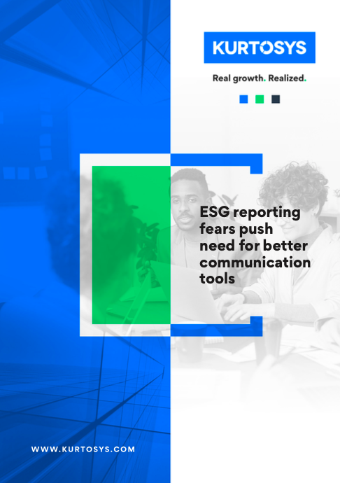 ESG reporting fears push need for better communication tools