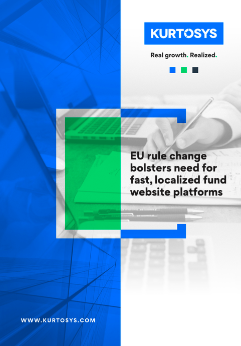 EU rule change bolsters need for fast, localized fund website platforms