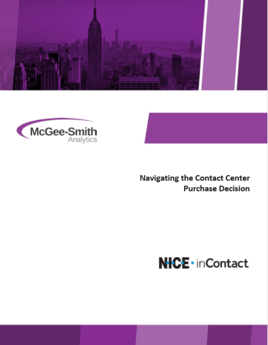Navigating the Contact Center Purchase Decision
