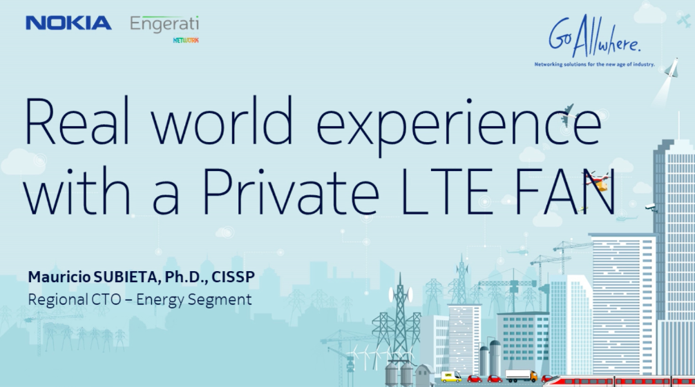 Real-world experience with a private LTE FAN