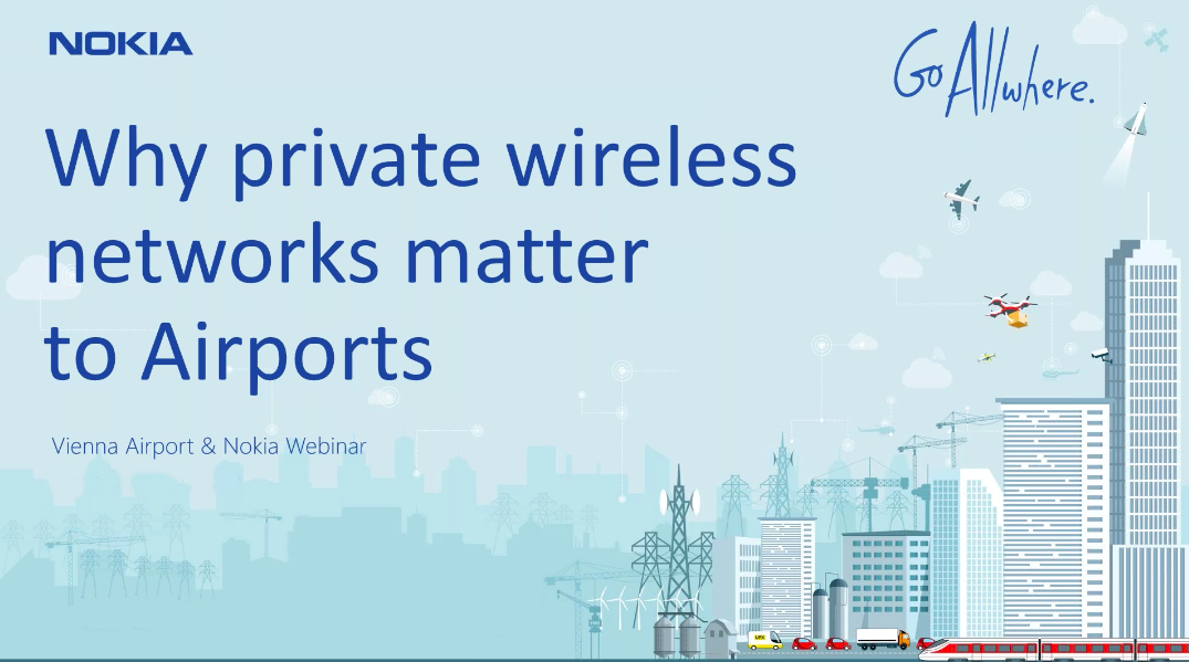 Why private wireless networks matter to Airports