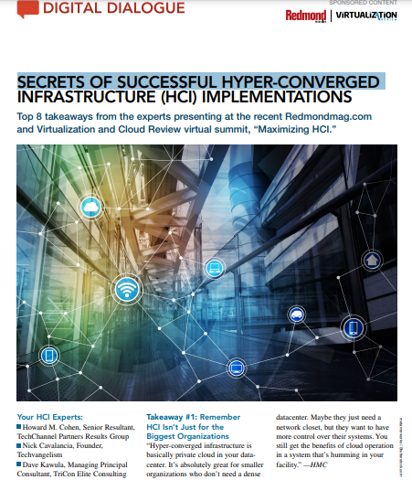 Digital Dialogue: Secrets of Successful Hyper-Converged Infrastructure (HCI) Implementations
