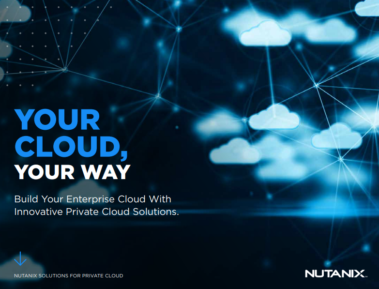 Build Your Enterprise Cloud With Innovative Private Cloud Solutions.