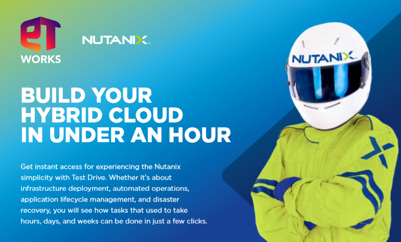 BUILD YOUR HYBRID CLOUD IN UNDER AN HOUR