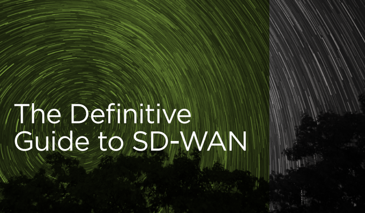 The Definitive Guide to SD-WAN
