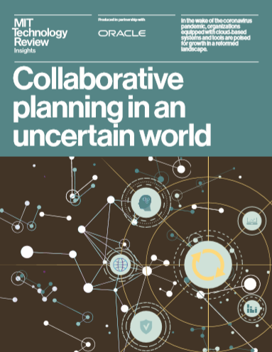 Collaborative planning in an uncertain world