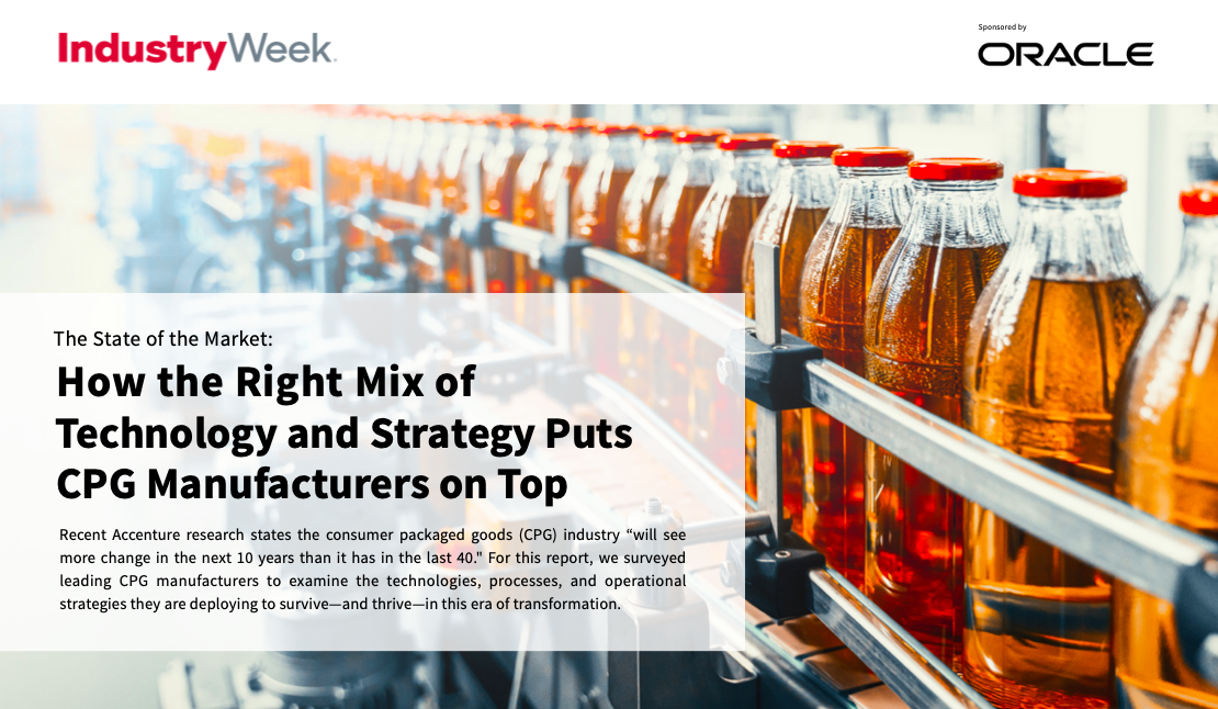 How the Right Mix of Technology and Strategy Puts CPG Manufacturers on Top
