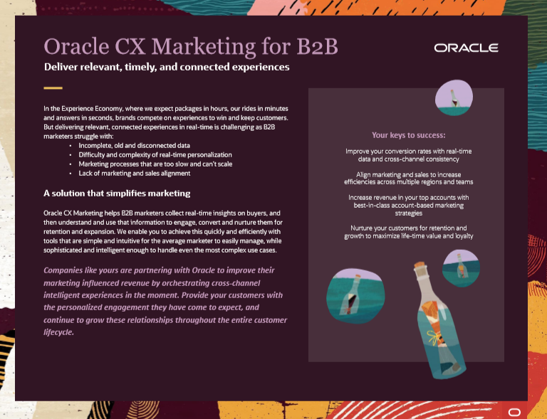 Simplify B2B Marketing in this Experience Economy