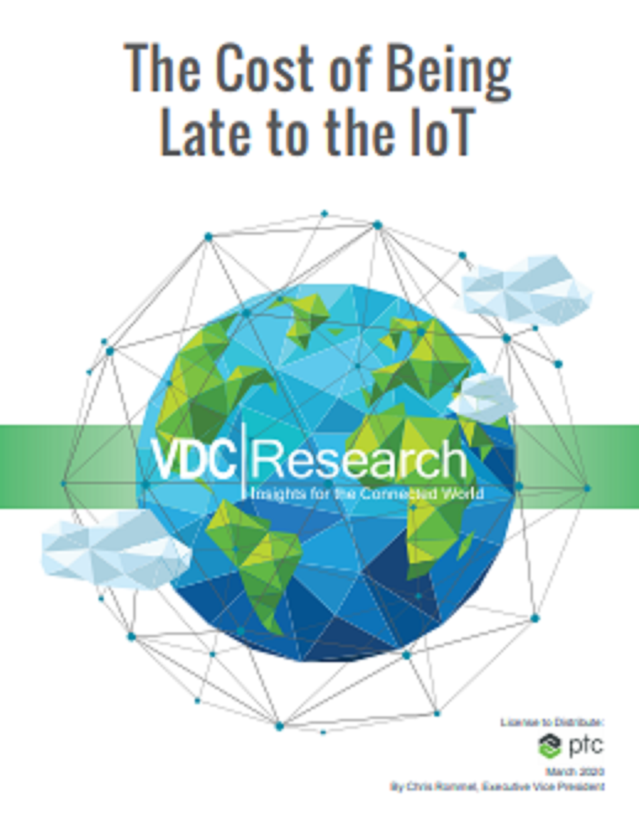 VDC Research: The Cost of Being Late to IoT Adoption